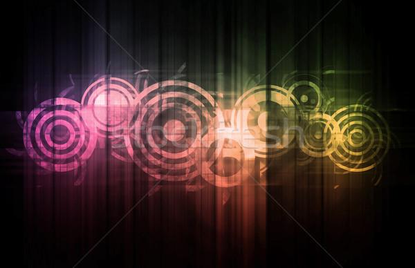 науки технологий данные аннотация искусства бизнеса Сток-фото © kentoh