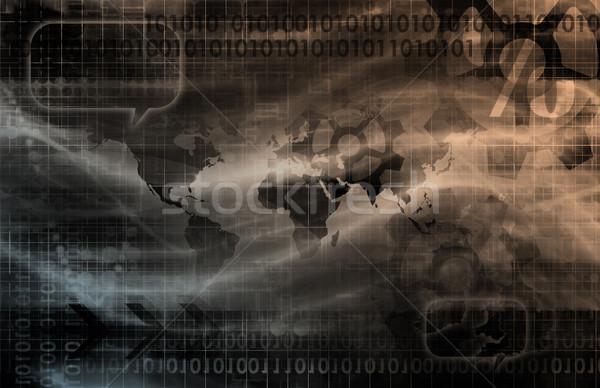 Information Technology Stock photo © kentoh