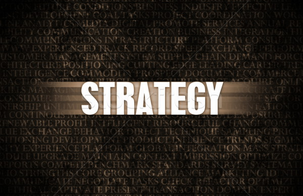 Strategy Stock photo © kentoh