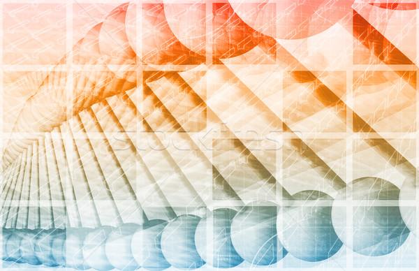 генетический анализ технологий химического ДНК Сток-фото © kentoh