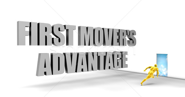 First Mover Advantage Stock photo © kentoh