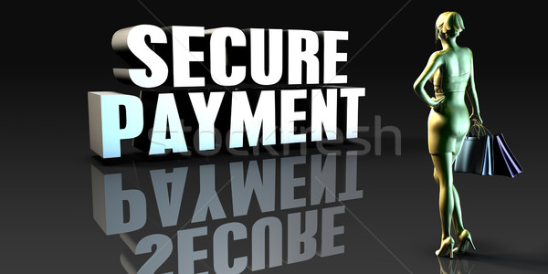 Secure Payment Stock photo © kentoh