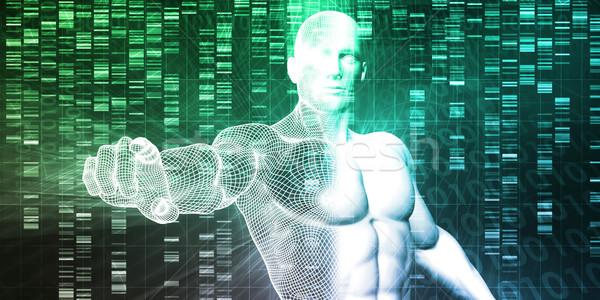 Génétique modification science industrie art affaires Photo stock © kentoh