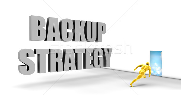Backup Strategy Stock photo © kentoh