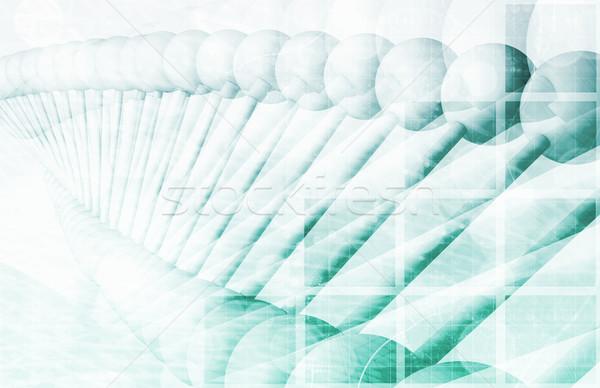 Orvostudomány terv technológia egészség gyógyszer tudomány Stock fotó © kentoh