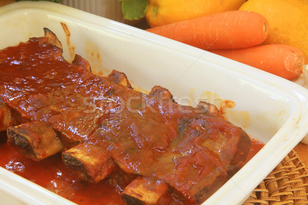 Beef Ribs Stock photo © kentoh