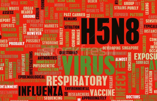 Stock photo: H5N8