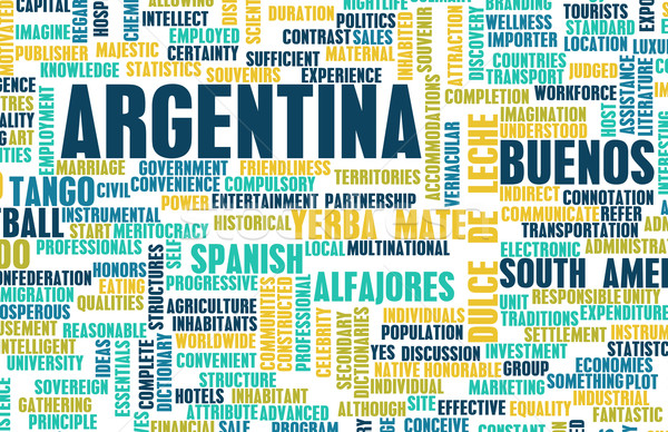Argentina Stock photo © kentoh