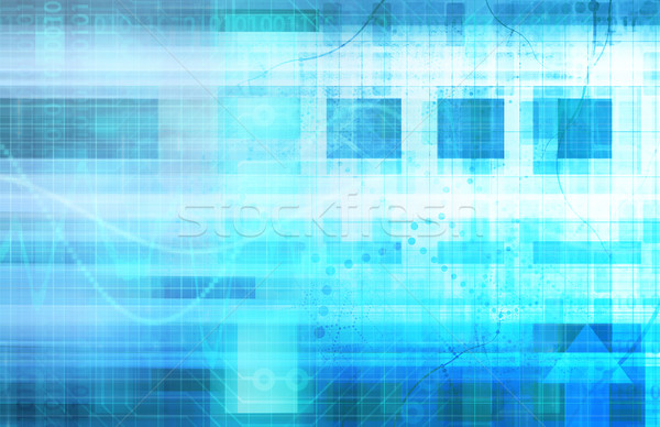 Science Futuristic Internet Stock photo © kentoh