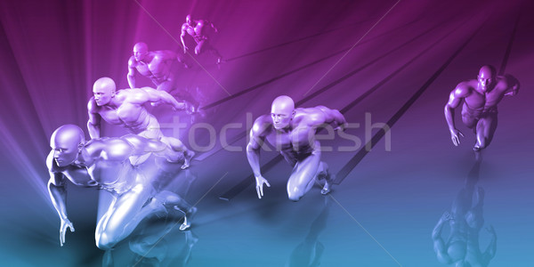 Sports or Sport Nutrition Stock photo © kentoh
