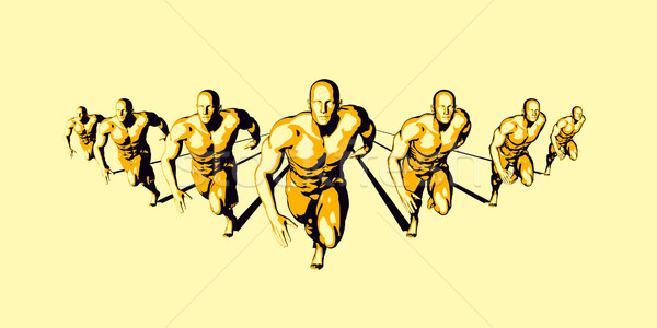 Sports Medicine Stock photo © kentoh