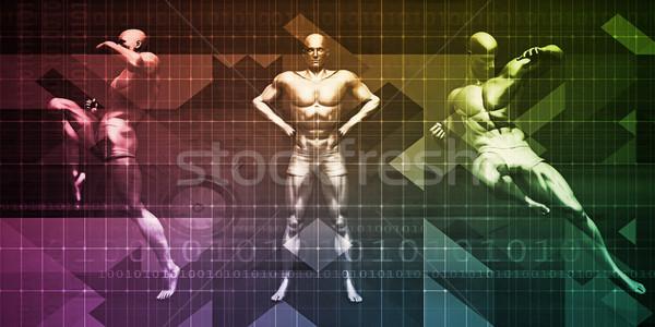 Physical Sports Stock photo © kentoh