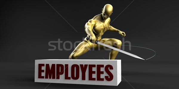 Reduce Employees Stock photo © kentoh