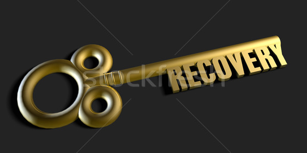 Key To Your Recovery Stock photo © kentoh
