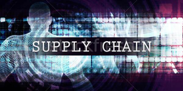 Supply chain Industry Stock photo © kentoh