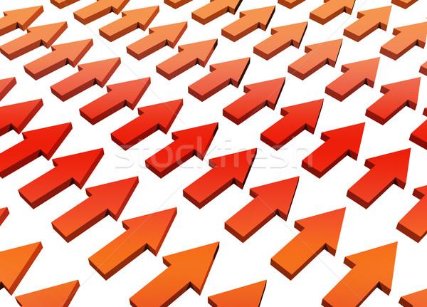 オレンジ 抽象的な 成長 進捗 壁紙 背景 ストックフォト © kentoh