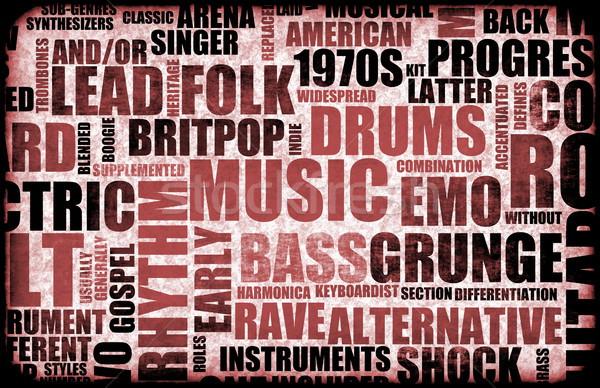 Music Background Stock photo © kentoh