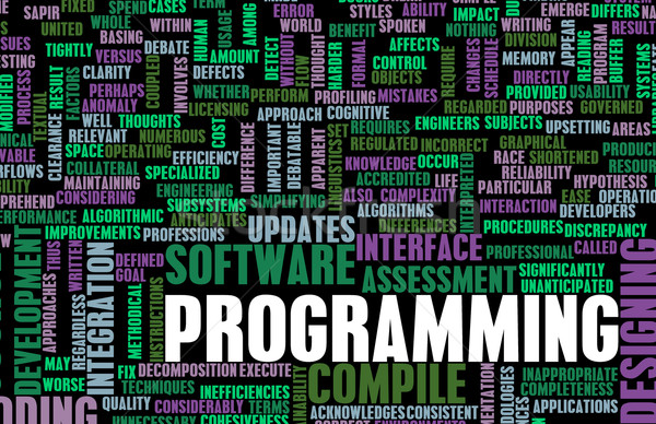 Programming Stock photo © kentoh