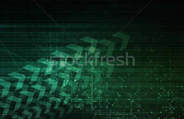 Digital Advertising Stock photo © kentoh