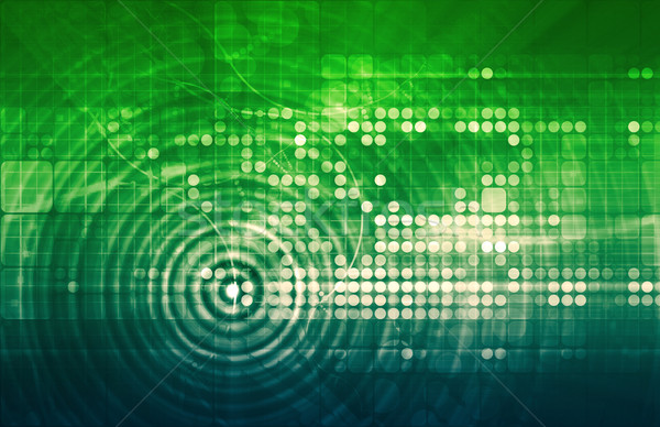 Negocios inteligencia la toma de decisiones tecnología mercado software Foto stock © kentoh