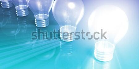 創造的思考 考え アイデア ビジネス 思考 電球 ストックフォト © kentoh