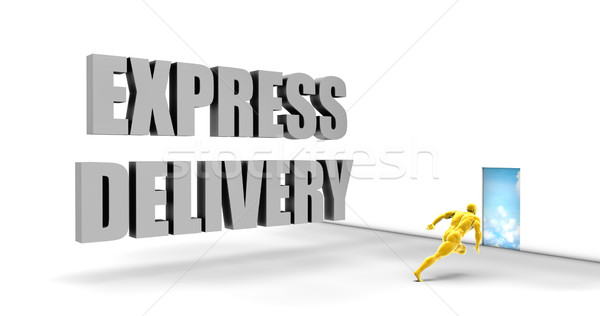 Express Delivery Stock photo © kentoh