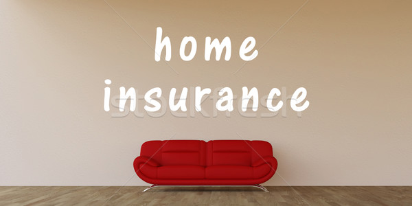Home Insurance Stock photo © kentoh
