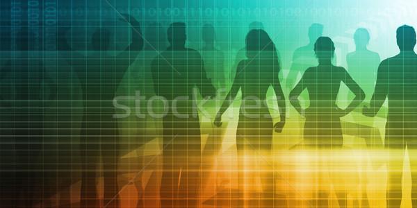 Stock photo: People Management