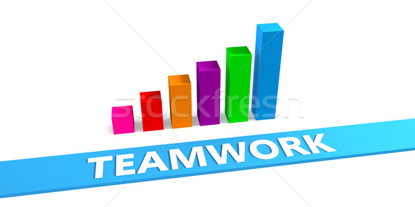 Great Teamwork Stock photo © kentoh