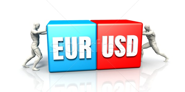 EUR USD Currency Pair Stock photo © kentoh