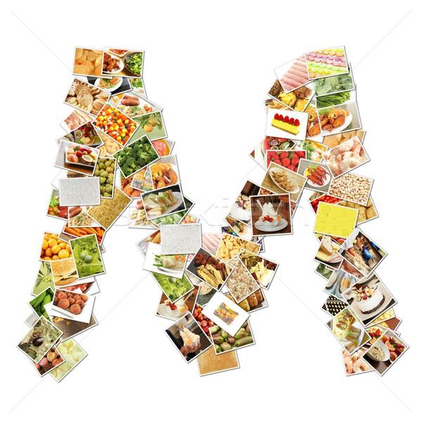 Letter M Stock photo © kentoh