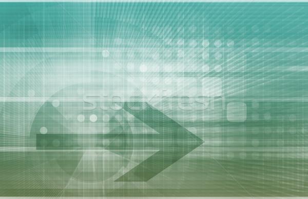急速 成長 成功 ビジネス 会社 グラフ ストックフォト © kentoh