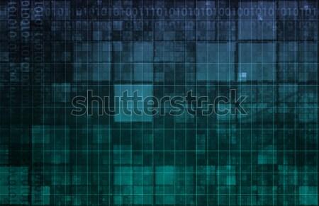 Brain Computer Interface Stock photo © kentoh