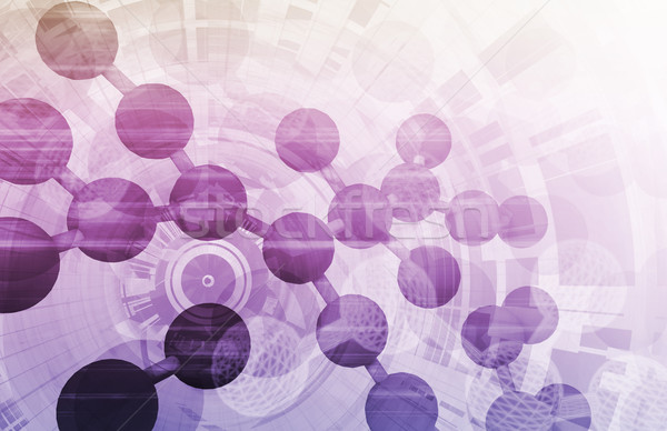 Medische onderzoek achtergrond verkoop cel dna Stockfoto © kentoh