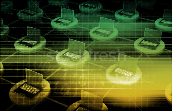 Cyber Security Stock photo © kentoh