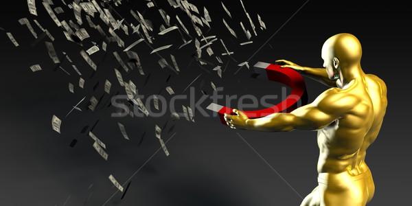 Yönetim finansal planlama adam sanayi banka Stok fotoğraf © kentoh