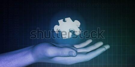 Industrial Engineering Stock photo © kentoh