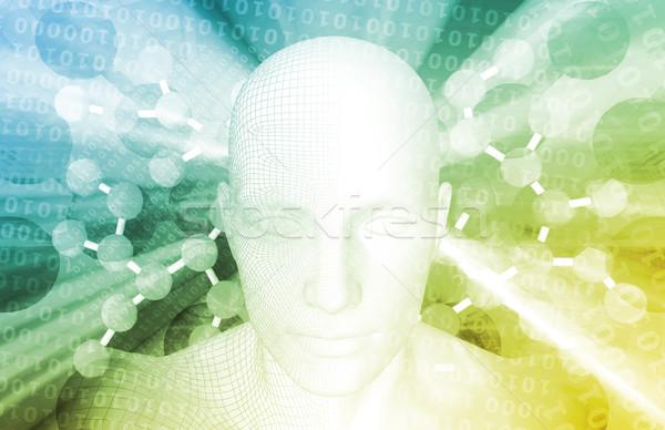 Gelecek sağlık bilim teknoloji sağlık tıp Stok fotoğraf © kentoh