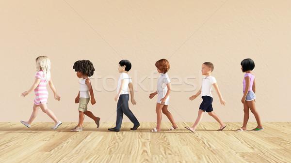Child Development Stock photo © kentoh