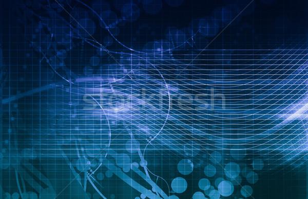 DNA biotech chemia medycznych płynnych Zdjęcia stock © kentoh