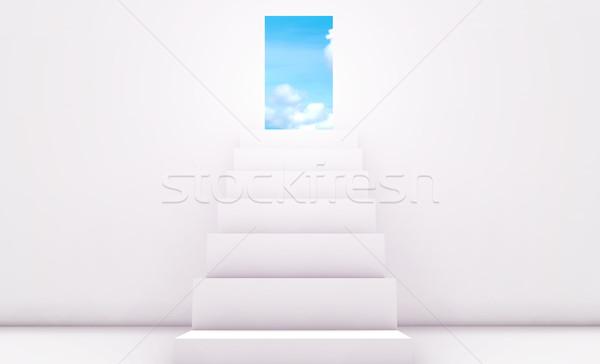 Stockfoto: Persoonlijke · doelen · pad · doel · target · 3D