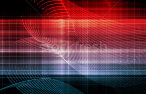 компьютер технологий бизнеса дизайна безопасности сеть Сток-фото © kentoh