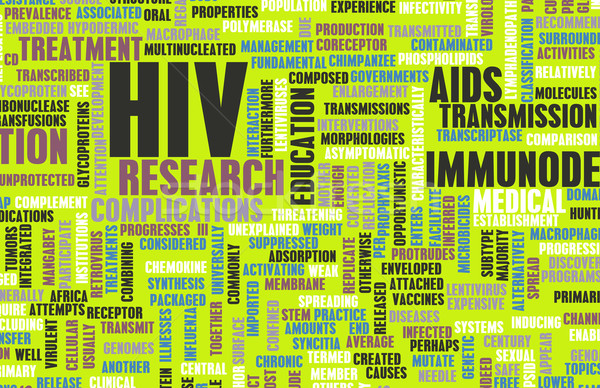 HIV Stock photo © kentoh