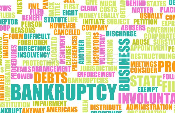 Bankruptcy Stock photo © kentoh