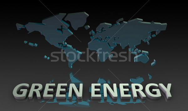 Green Energy Stock photo © kentoh