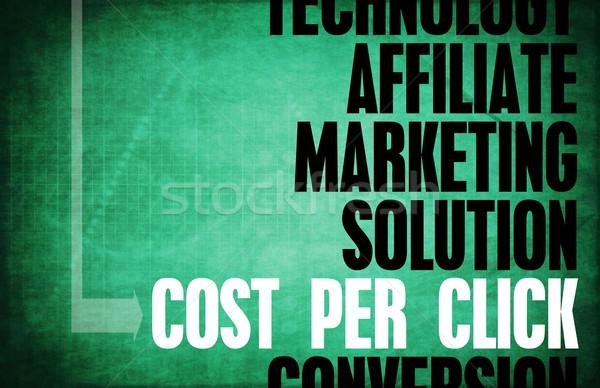Stockfoto: Kosten · klikken · kern · principes · business