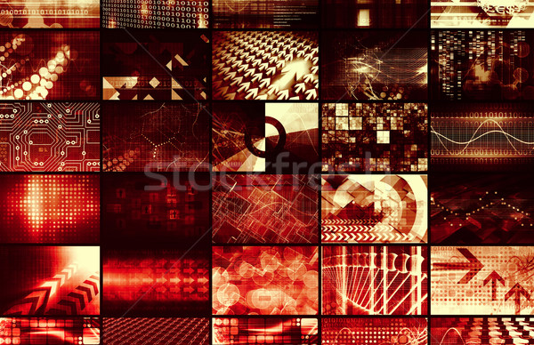 Iş ekibi global şirket iş dünya arka plan Stok fotoğraf © kentoh