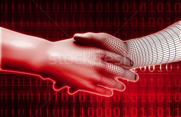 Technology Evolution Stock photo © kentoh