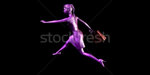 Female Shopper Stock photo © kentoh