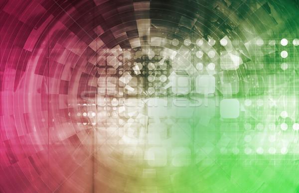 Virtual Technology Background  Stock photo © kentoh